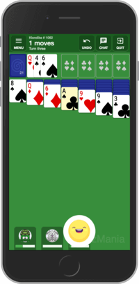 Play Klondike Solitaire online at CardzMania